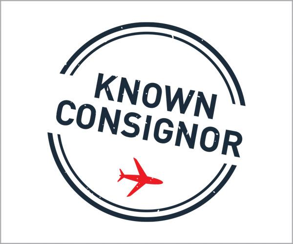 Known Consignor - Cerbios-Pharma SA